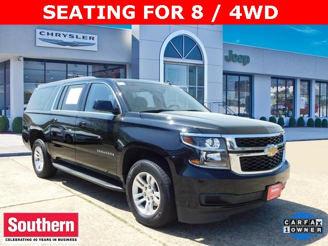 Pre Owned Suburban >> Pre Owned 2018 Chevrolet Suburban Lt 4wd